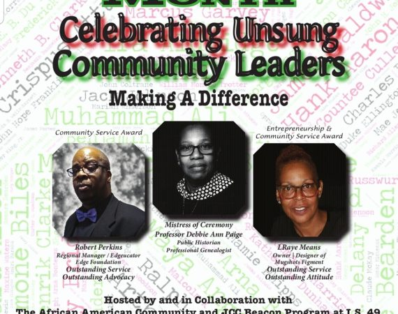 ROC'N Wednesday! Black History Month: Unsung Community Service Leaders