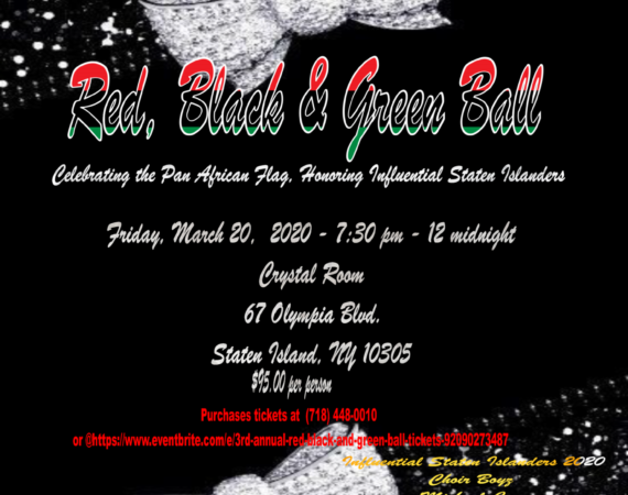 Red, Black & Green Ball